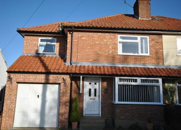 Thumbnail 4 bed semi-detached house for sale in Burma Road, Old Catton, Norwich