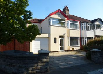 Thumbnail 4 bed semi-detached house for sale in Mossley Hill Road, Liverpool