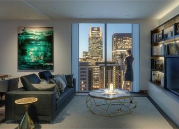 Thumbnail Studio for sale in Maine Tower, Harbour Central, London