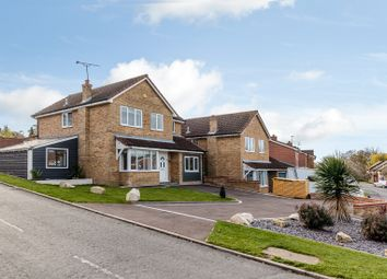 Thumbnail 4 bedroom detached house for sale in Bourchier Close, Hadleigh, Ipswich
