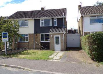 Thumbnail 3 bedroom semi-detached house for sale in Hellesdon, Norwich, Norfolk