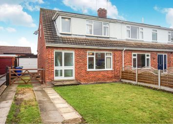 Thumbnail 3 bed semi-detached house for sale in Hackthorn Road, Welton, Lincoln