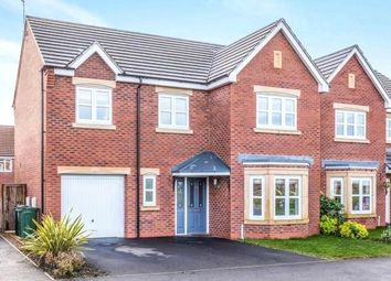 Thumbnail 4 bed detached house for sale in Sunnylands Drive, Sileby, Loughborough, Leicestershire