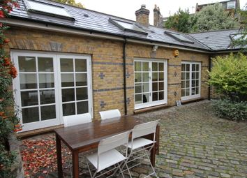 Thumbnail 3 bed mews house to rent in Sangora Road, London