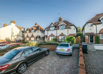 Thumbnail 2 bed semi-detached house for sale in Ware Road, Hertford, Herts