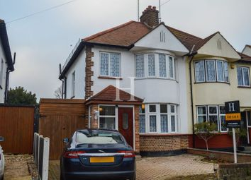 Thumbnail 3 bed semi-detached house for sale in Earls Hall Avenue, Southend-On-Sea, Essex