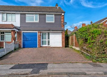 Thumbnail 3 bedroom semi-detached house for sale in Harden Close, Bloxwich, Walsall