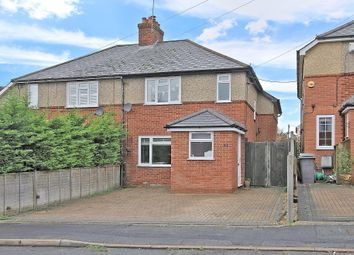 Thumbnail 3 bed semi-detached house for sale in Wellington Road, Andover