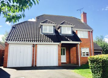 Thumbnail 4 bed detached house to rent in Deanery Crescent, Thurcaston, Leicester