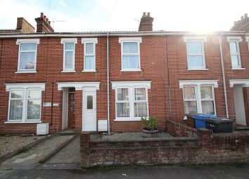 Thumbnail 2 bedroom terraced house for sale in Hutland Road, Ipswich