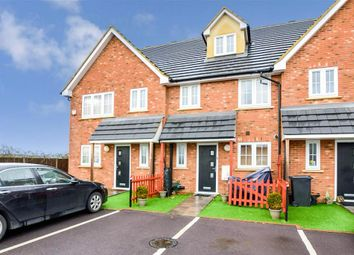 Thumbnail 3 bed town house for sale in Mountside Close, Northfleet, Gravesend, Kent