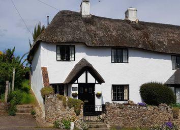 Thumbnail 3 bedroom semi-detached house for sale in Hillhead Cottages, Colyton, Devon