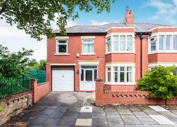 Thumbnail 4 bedroom semi-detached house for sale in Prestbury Avenue, Blackpool