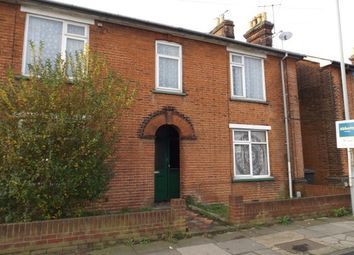 Thumbnail 1 bed flat to rent in Cauldwell Hall Road, Ipswich