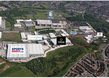 Thumbnail Land for sale in Land At Martland Park, Challenge Way, Wigan, Greater Manchester, UK
