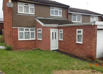 Thumbnail 3 bedroom town house for sale in Steel Close, Goodwood, Leicester