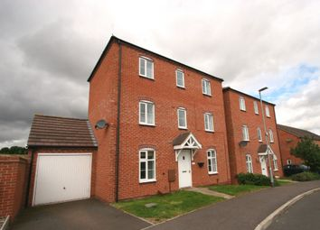 Thumbnail 4 bed detached house to rent in Darwin Crescent, Loughborough