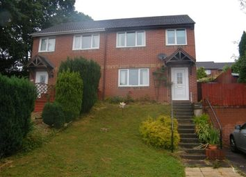 Thumbnail 3 bed property to rent in Harebell Copse, Exwick, Exeter
