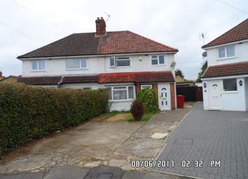 Thumbnail 3 bed property to rent in Third Crescent, Slough