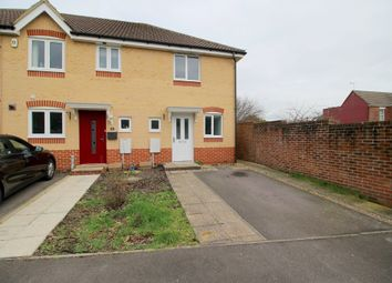 Thumbnail 2 bedroom end terrace house to rent in Melville Gardens, Sarisbury Green, Southampton