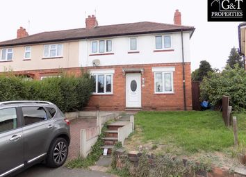 Thumbnail 3 bed semi-detached house to rent in Mount Road, Wordsley, Stourbridge