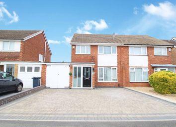 Thumbnail 3 bed semi-detached house for sale in Granton Road, Kings Heath, Birmingham