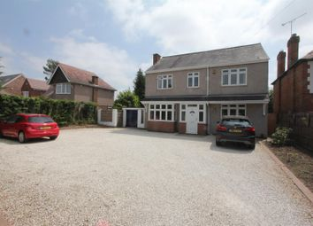 Thumbnail 6 bed detached house for sale in Coventry Road, Burbage, Hinckley