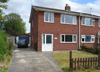 Thumbnail 3 bed semi-detached house for sale in Lime Crescent, Waddington, Lincoln