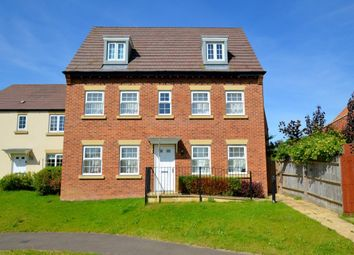 Thumbnail 5 bed detached house for sale in King Johns Walk, Rothwell, Kettering