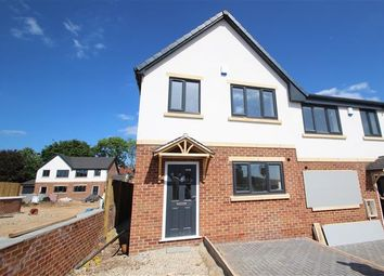 Thumbnail 3 bed town house for sale in School Street, Upton, Pontefract