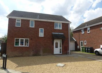 Thumbnail 4 bedroom detached house to rent in Middlefield Road, Sawtry, Huntingdon