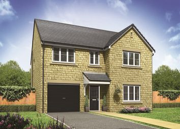"Thumbnail 4 bed detached house for sale in ""The Harley "" at Barnsley Road, Flockton, Wakefield"