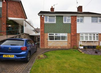 Thumbnail 3 bed semi-detached house for sale in Suffolk Close, Clayton, Newcastle