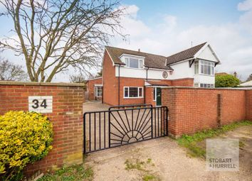 Thumbnail 6 bed detached house for sale in Boundary Road, Norwich, Norfolk