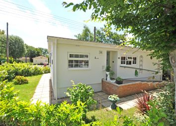 Thumbnail 2 bed mobile/park home for sale in Deanland Wood Park, Golden Cross, Hailsham