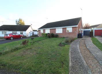 Thumbnail 2 bedroom semi-detached bungalow to rent in Gedge Close, Bury St. Edmunds