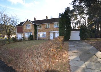 Thumbnail 3 bed semi-detached house for sale in Nightingale Crescent, Harmanswater, Bracknell