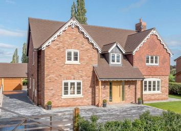 Thumbnail 6 bed detached house for sale in Moss Lane, Elworth, Sandbach, Cheshire