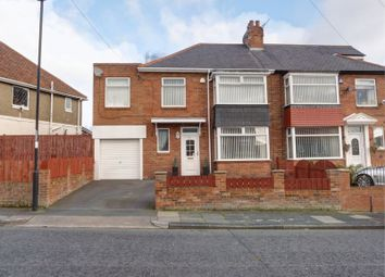Thumbnail 3 bed semi-detached house for sale in The Fellway, West Denton, Newcastle Upon Tyne