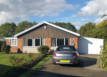 Thumbnail 3 bed detached bungalow for sale in Saltersway, Threekingham, Sleaford