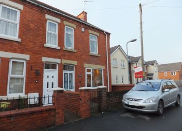 Thumbnail 2 bedroom semi-detached house to rent in Offa Street, Johnstown, Wrexham