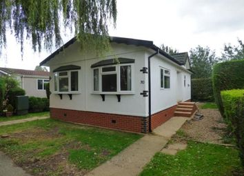 Thumbnail 2 bed mobile/park home for sale in Wallow Lane, Great Bricett, Ipswich