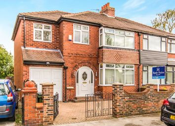 Thumbnail 5 bed semi-detached house for sale in Matlock Road, Reddish, Stockport