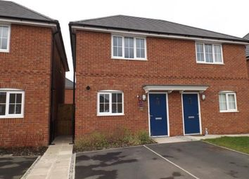 Thumbnail 2 bed semi-detached house for sale in Barncoft Road, Crewe, Cheshire