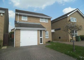 Thumbnail 3 bed detached house to rent in The Hedgerows, Furzton, Milton Keynes