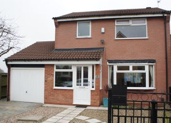 Thumbnail 3 bed detached house for sale in Tudor Grove, Groby, Leicester