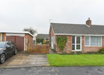 Thumbnail 2 bed semi-detached bungalow for sale in Montague Road, Bishopthorpe, York