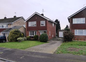 Thumbnail 3 bed detached house for sale in Sidmouth Grange Close, Earley, Reading