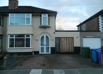 Thumbnail 3 bed semi-detached house for sale in Becontree Road, Liverpool