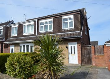 Thumbnail 3 bed semi-detached house for sale in Merlin Avenue, Saughall Massie
